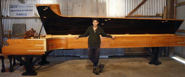 بزرگ ترین پیانوی دنیا