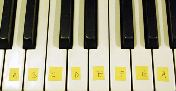 ترفندهایی کاربردی برای شروع یادگیری پیانو